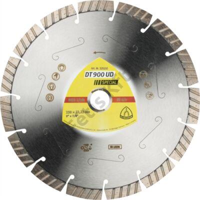 Klingspor gyémánt vágókorong 230x2.6x22.23mm P DT 900 UD ST=Turbó szegmens