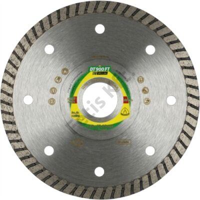 Klingspor gyémánt vágókorong 125x1.4x22.23mm P DT 900 FT GRT=Turbó folyamatos