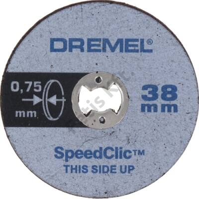 Dremel EZ SpeedClic: vékony vágókorongok. (SC409)