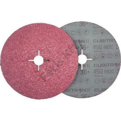 3M fiber csiszolótárcsa Cubitron II 982C115mm P36