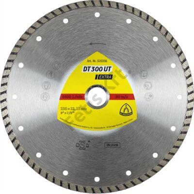 Klingspor gyémánt vágókorong 115x1.9x22.23mm P DT 300 UT GRT=Turbó folyamatos