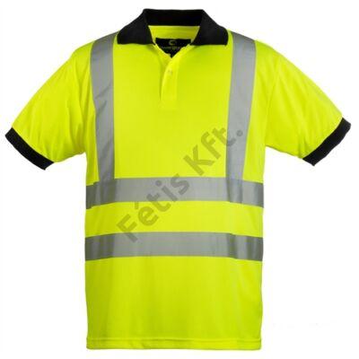 HI-VIZ fényvisszaverő póló sárga XXL