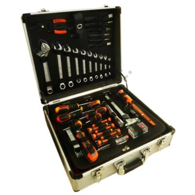 Tactix szerszámos bőrönd 137 db szerszámmal