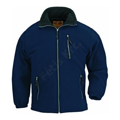 7a67081479 Munkavédelmi pulóver ANGARA kék XXXLcipzár Katt rá a felnagyításhoz
