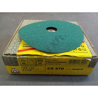 Klingspor csiszolópapír 115 inox P  40 CS570