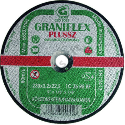 Graniflex vágókorong 300x3.2 kő