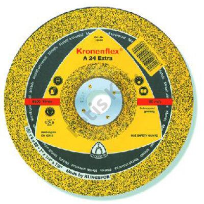 Klingspor tisztítókorong 180X6 fém A24EX