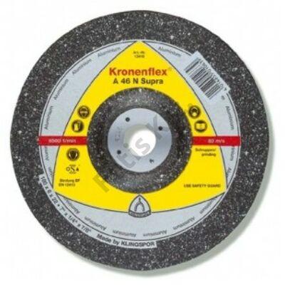 Klingspor tisztítókorong 125X6 alumínium  A46N