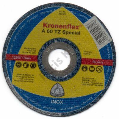 Klingspor vágókorong 125X1.0 inox A60TZ