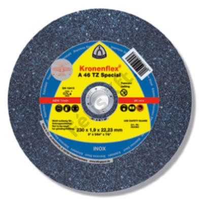 Klingspor vágókorong 125X1.6 inox A46TZ