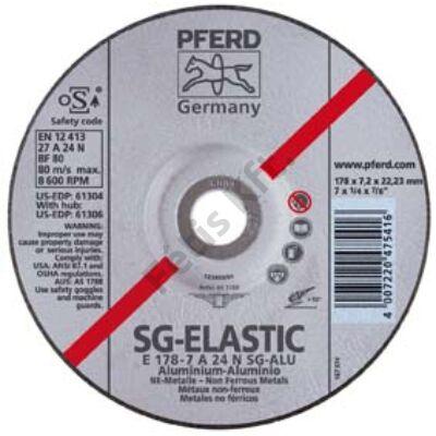 Pferd tisztítókorong aluminiumhoz 115x6,3 hajlított  (Format)
