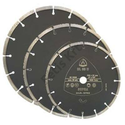 Klingspor gyémánttárcsa  115X22  DL 80U univerzális