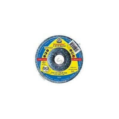 Klingspor tisztítókorong 115X6 acél A24R