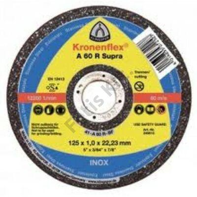 Klingspor vágókorong 125X1.0 inox A60R