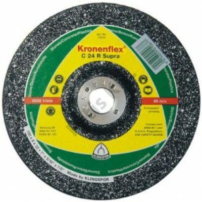 Klingspor tisztítókorong 125X6 kő/beton C24R