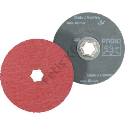 Pferd COMBICLICK® fiber csiszolótárcsa, kerámiaszemcse 125mm CO-COOL 36  (Format)
