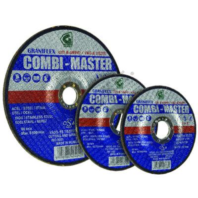 Graniflex vágókorong 125x3.5 inox Combi-Master 3 az 1-ben