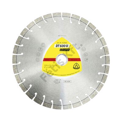 Klingspor Gyémánt vágókorong 230X2,6 DT600U SUP