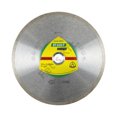Klingspor Gyémánt vágókorong 125X1,6 DT600F SUP