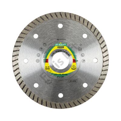 Klingspor Gyémánt vágókorong 125X1,4 DT900FT SPEC