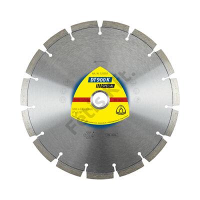 Klingspor Gyémánt vágókorong 230X2,6 DT900K SPEC