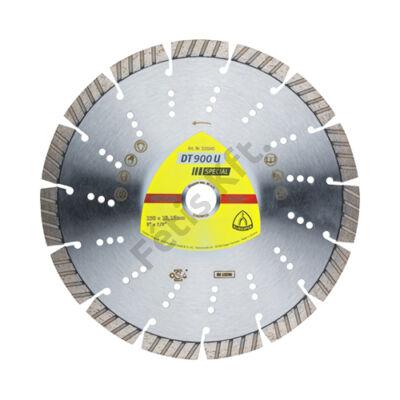Klingspor Gyémánt vágókorong 230X2,6 DT900U SPEC