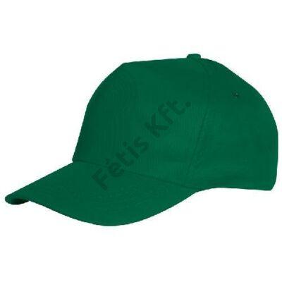 Munkavédelmi baseball sapka zöld