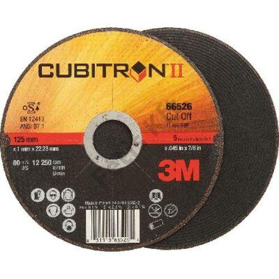 3M Vágópenge Cubitron II 125x1,0mm