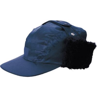 Munkavédelmi canada sapka kék - szőrmés