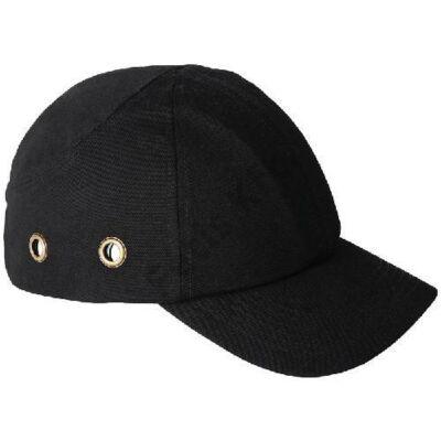 Munkavédelmi fejvédős baseball sapka fekete