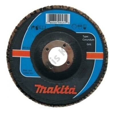 Makita Lamellás csiszoló ACÉL 115mm K120