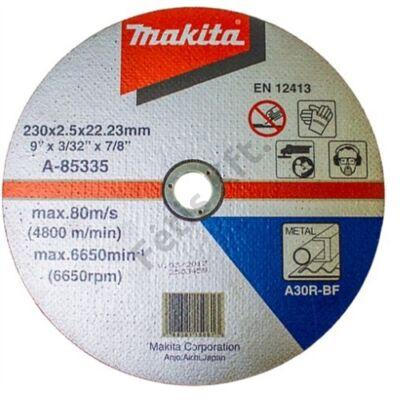 Makita Vágókorong ACÉL 230x2,5mm