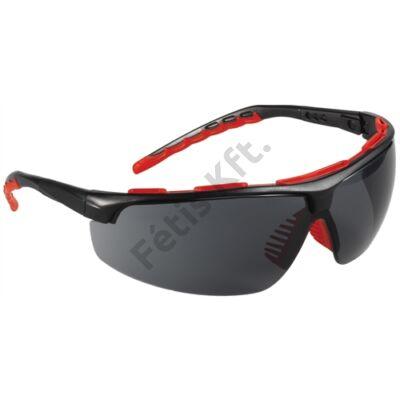 STREAMLUX – színezett karcmentes védőszemüveg fekete szárral