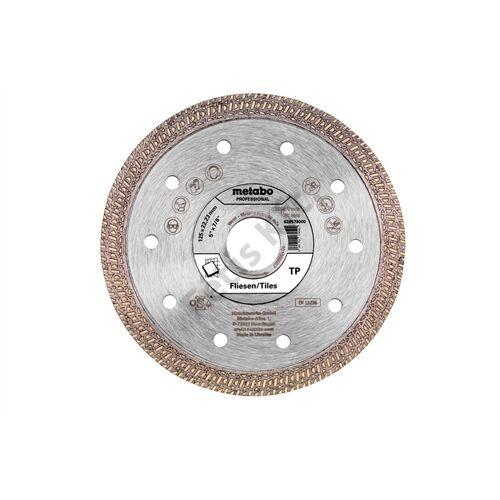 Metabo gyémánt vágókorong 125x22.23mm TP