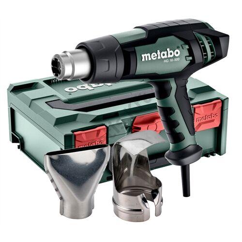 Metabo HG 16-500 hőlégfúvó +metaBOX