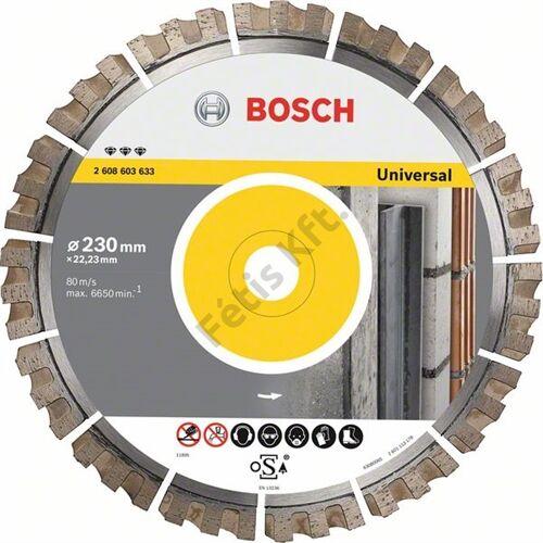 Bosch vágókorong, gyémánt 300x25.4 BFU univerzális