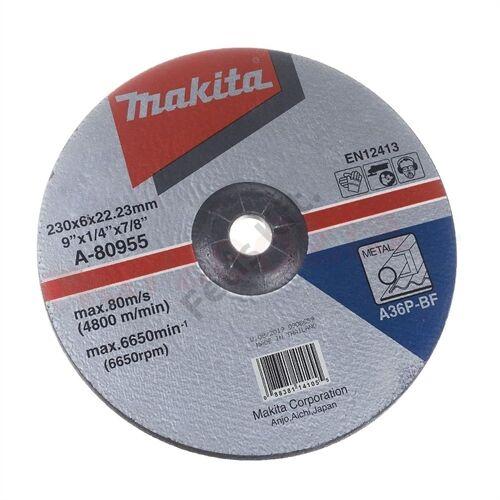 Makita csiszolókorong acélhoz 230x6mm