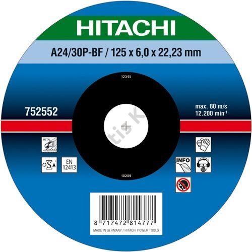 Hitachi-Hikoki csiszolókorong 180x6.0x22.2mm fém