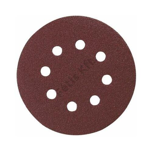 Makita Excenterpapír tépőzáras barna 125mm K100 10db
