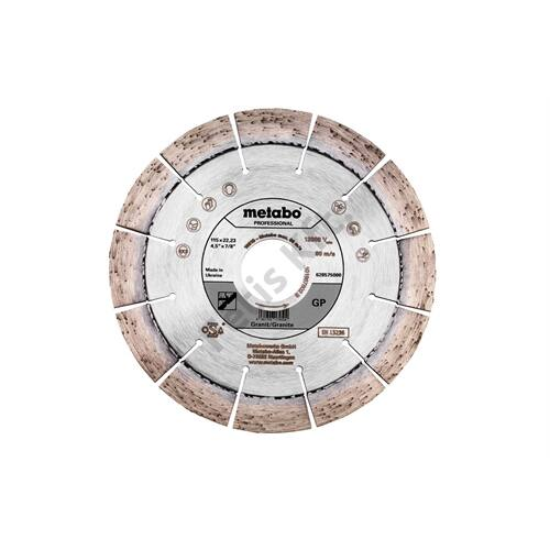 Metabo gyémánt vágókorong 115x22.23mm GP