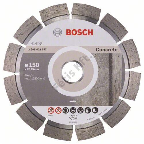 Bosch vágókorong, gyémánt 150 EXPE FOR CONCRETE