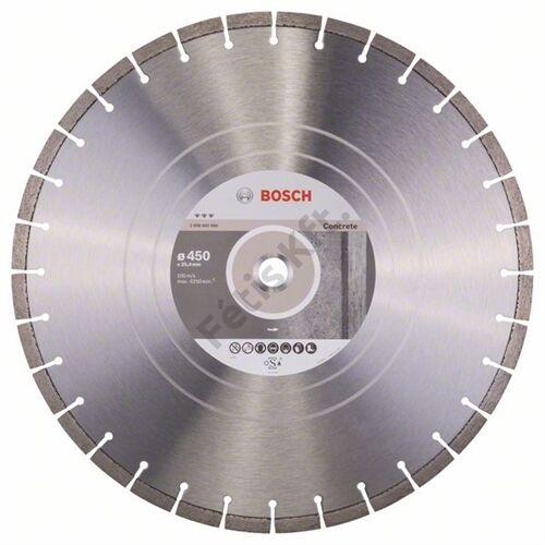Bosch vágókorong, gyémánt 450x25