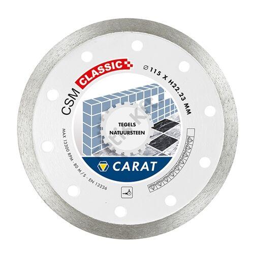 Carat gyémánt vágókorong 115x22.23mm csempe