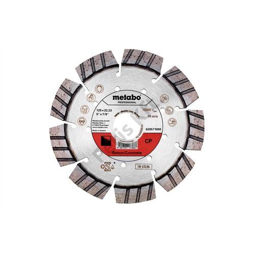 Metabo gyémánt vágókorong 125x22.23mm CP