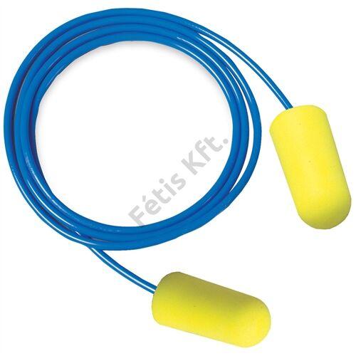 3M ES-01-005 EARSOFT zsinóros fül-dugó NEON sárga SNR 36db