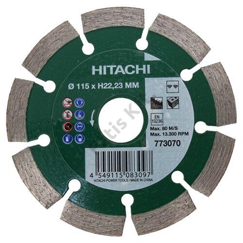 Hitachi-Hikoki gyémánt vágókorong 115x22.23mm