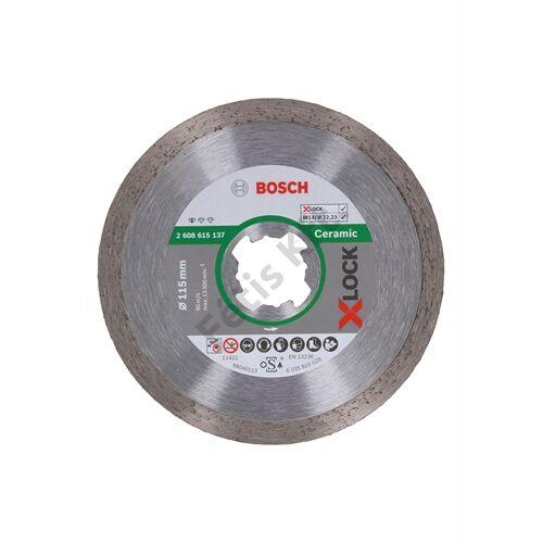 Bosch vágókorong, gyémánt 115 X-Lock csempe