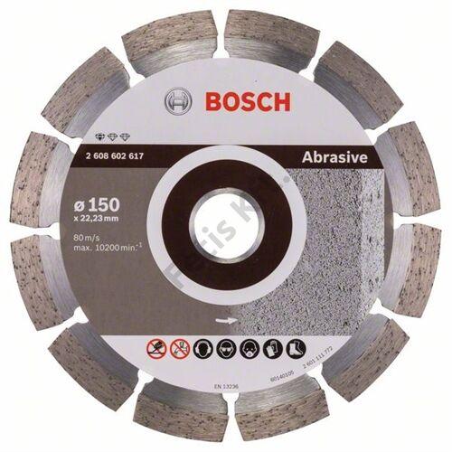 Bosch vágókorong, gyémánt 150 PROF FOR ABRASIVE