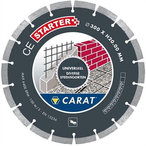 Carat gyémánttárcsa 300x25.4mm UNIVERZÁLIS