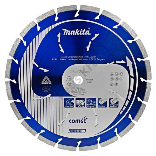 Makita 300mm gyémánt vágókorong COMET 3DDG szegmentált